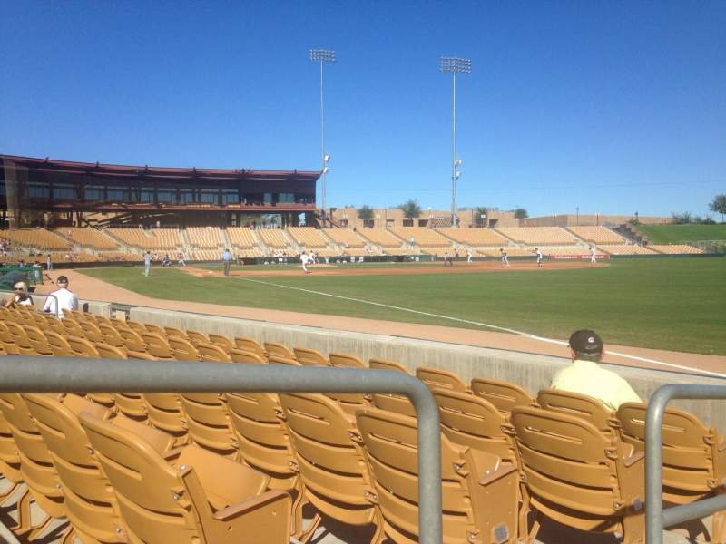 Seating view for Camelback Ranch Section 1 Row 5 Seat 10