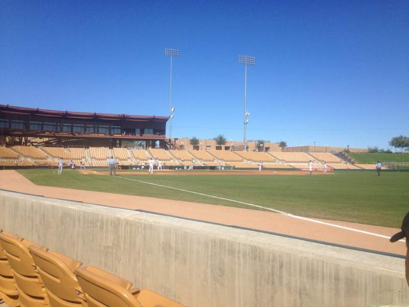 Seating view for Camelback Ranch Section 2 Row 2 Seat 2