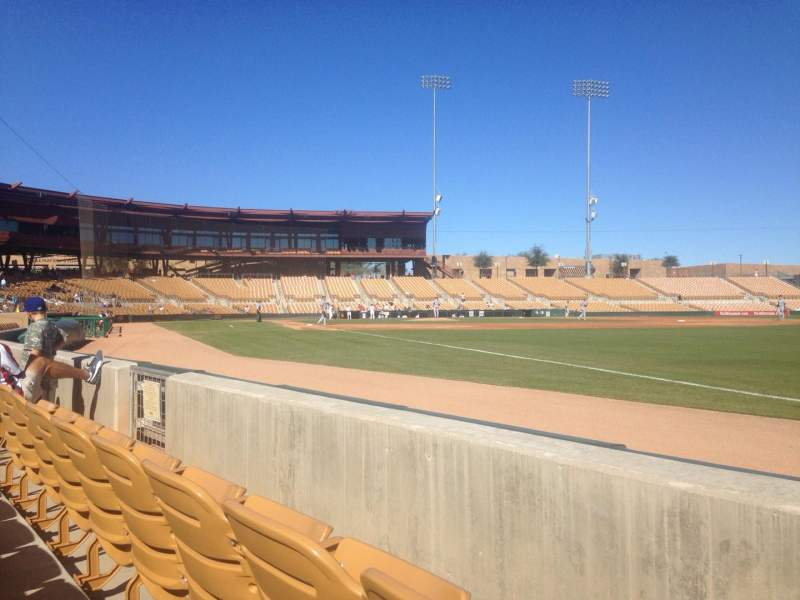 Seating view for Camelback Ranch Section 2 Row 2 Seat 9