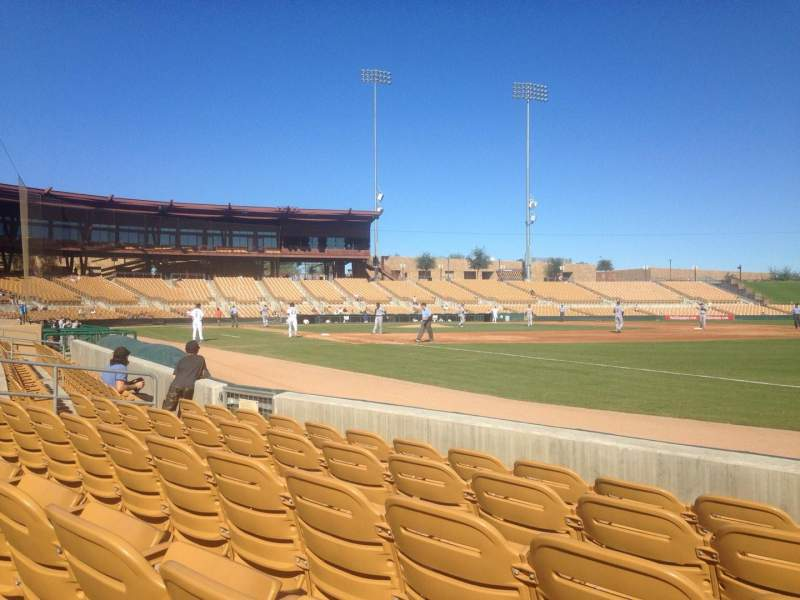 Seating view for Camelback Ranch Section 3 Row 5 Seat 5