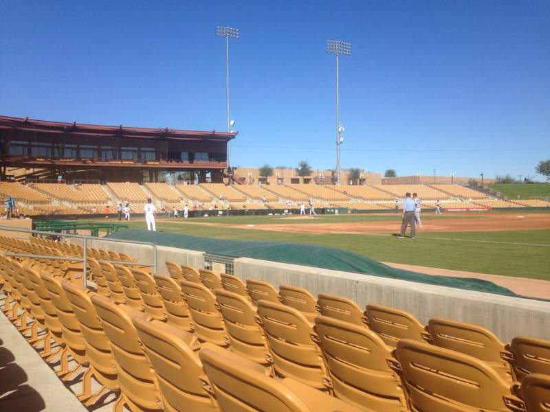 Seating view for Camelback Ranch Section 4 Row 4 Seat 4