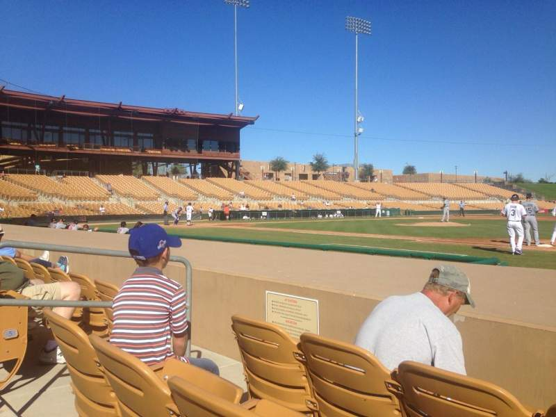 Seating view for Camelback Ranch Section 6 Row 6 Seat 6