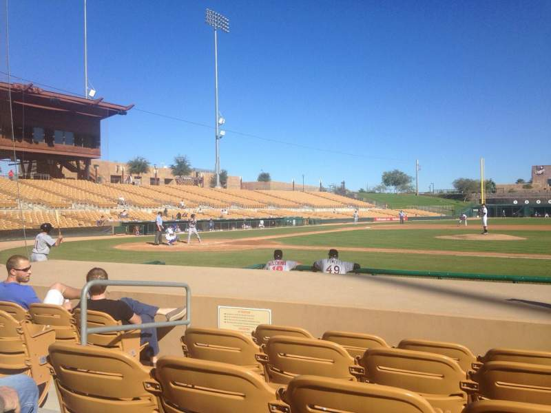 Seating view for Camelback Ranch Section 9 Row 8 Seat 5