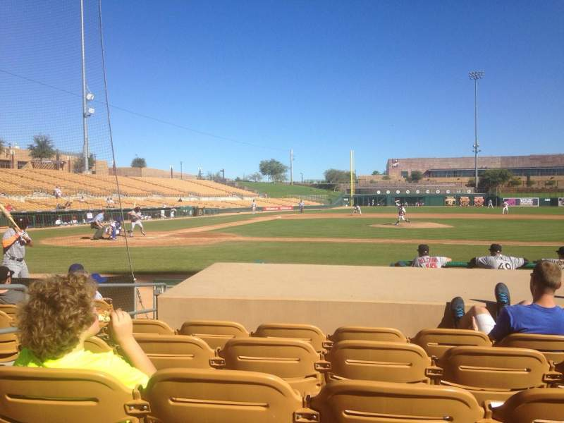 Seating view for Camelback Ranch Section 10 Row 8 Seat 5