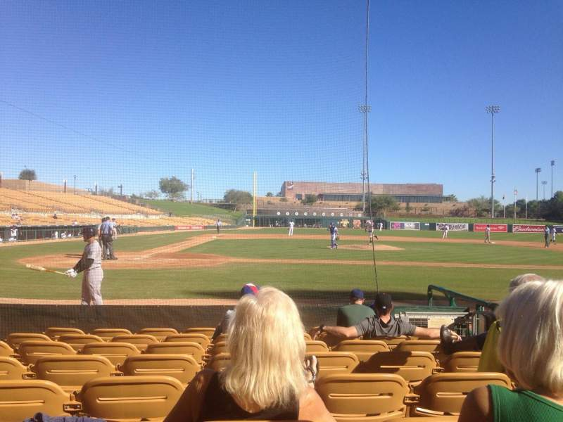 Seating view for Camelback Ranch Section 11 Row 8 Seat 5