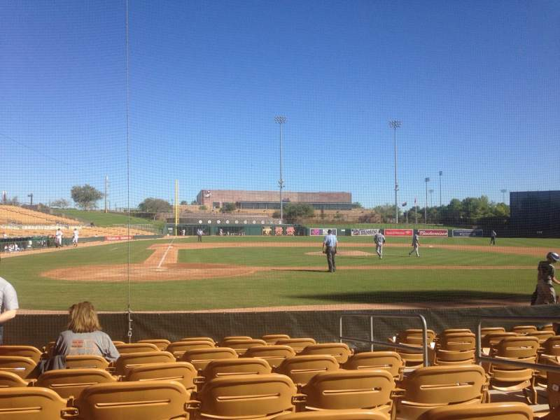 Seating view for Camelback Ranch Section 12 Row 8 Seat 4