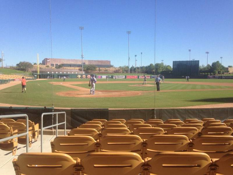 Seating view for Camelback Ranch Section 13 Row 8 Seat 8