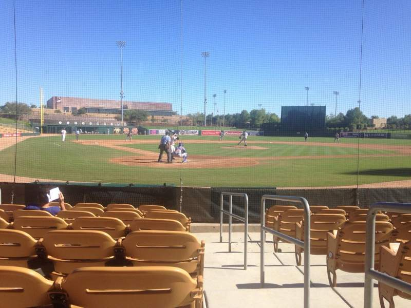 Seating view for Camelback Ranch Section 14 Row 8 Seat 1