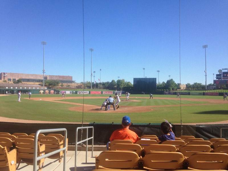 Seating view for Camelback Ranch Section 14 Row 8 Seat 8