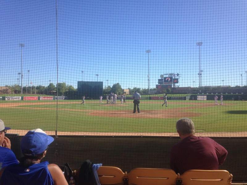 Seating view for Camelback Ranch Section 16 Row 4 Seat 3