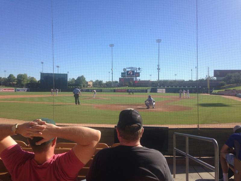 Seating view for Camelback Ranch Section 17 Row 6 Seat 1
