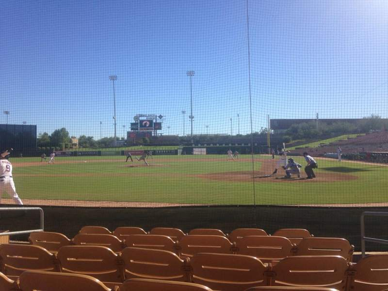 Seating view for Camelback Ranch Section 18 Row 6 Seat 4