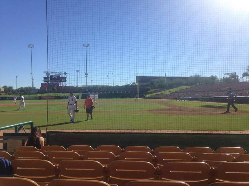 Seating view for Camelback Ranch Section 19 Row 6 Seat 4