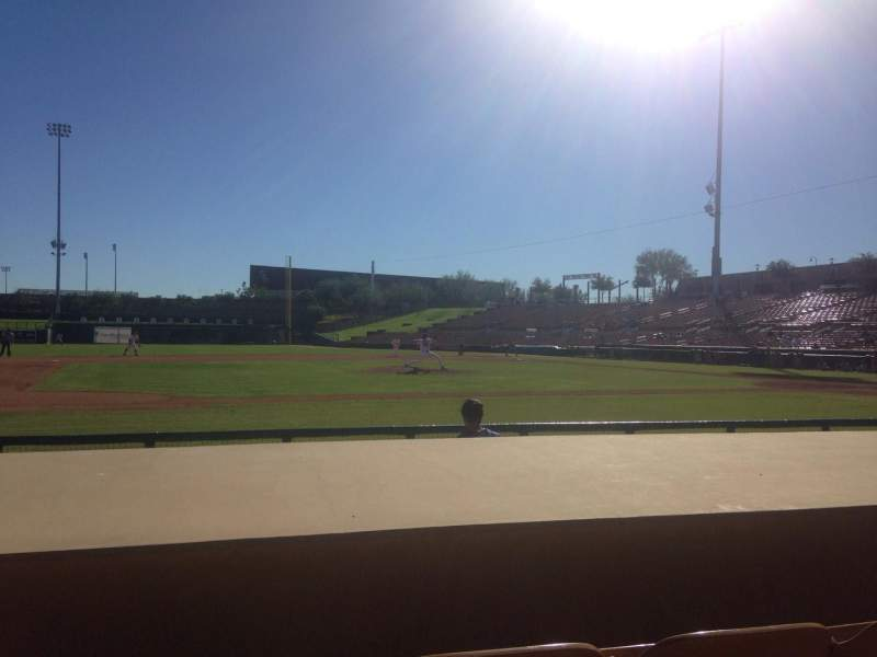 Seating view for Camelback Ranch Section 22 Row 6 Seat 6