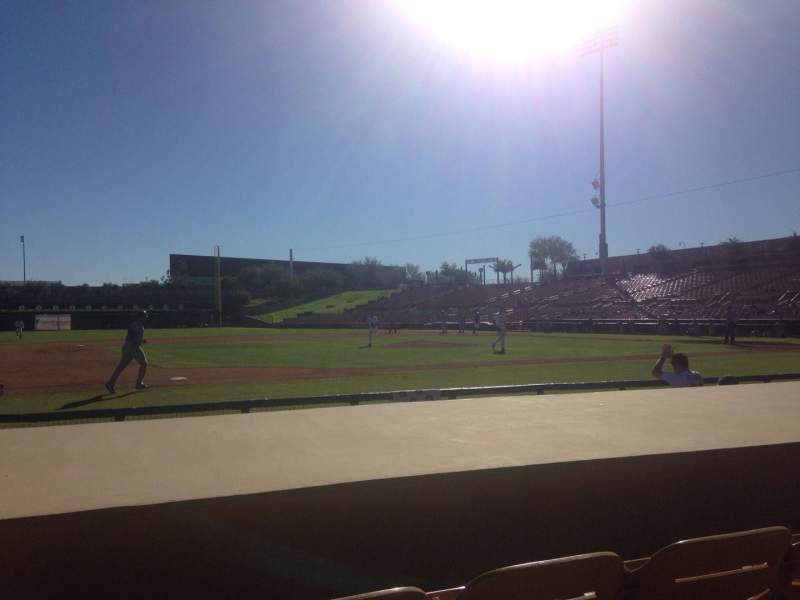 Seating view for Camelback Ranch Section 23 Row 6 Seat 6