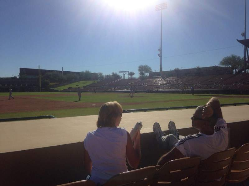 Seating view for Camelback Ranch Section 24 Row 6 Seat 6