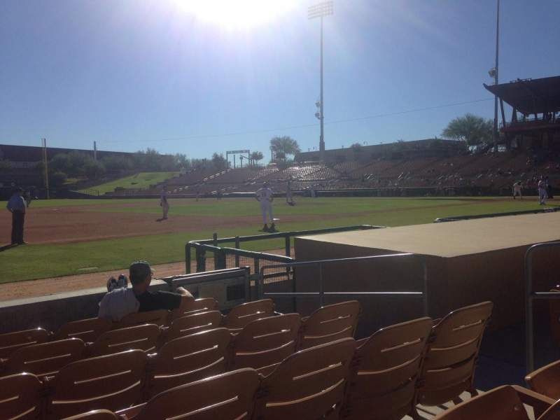 Seating view for Camelback Ranch Section 25 Row 6 Seat 6