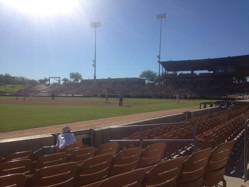 Seating view for Camelback Ranch Section 27 Row 6 Seat 7