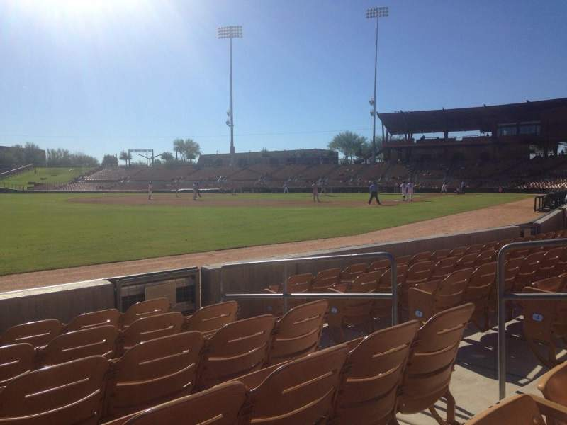 Seating view for Camelback Ranch Section 28 Row 6 Seat 6