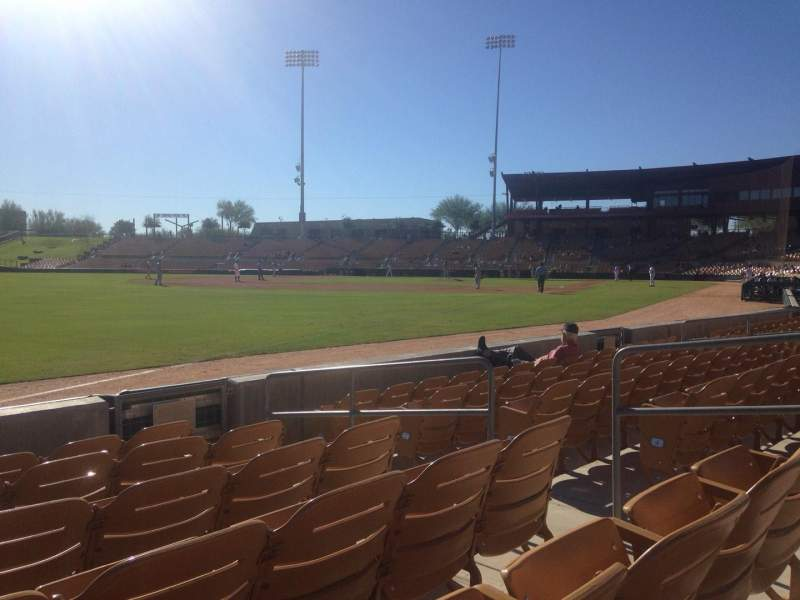 Seating view for Camelback Ranch Section 29 Row 6 Seat 6