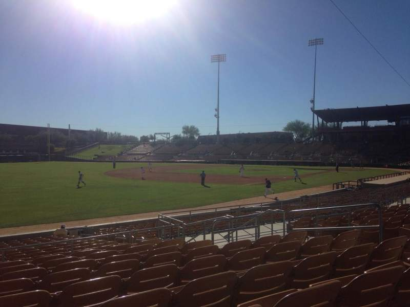 Seating view for Camelback Ranch Section 128 Row 9 Seat 9