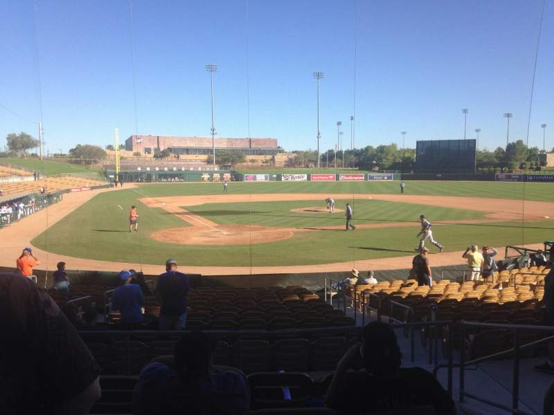 Seating view for Camelback Ranch Section 113 Row 6 Seat 5
