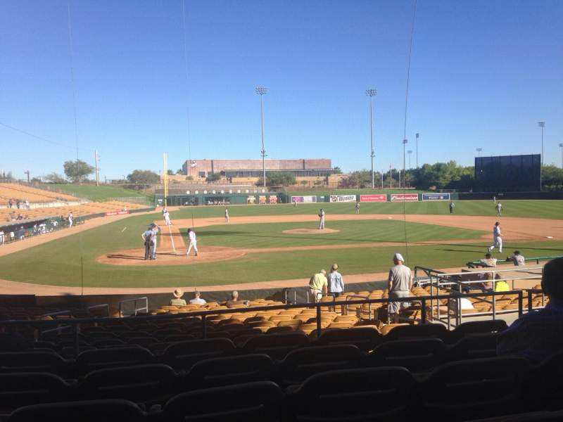 Seating view for Camelback Ranch Section 112 Row 6 Seat 8