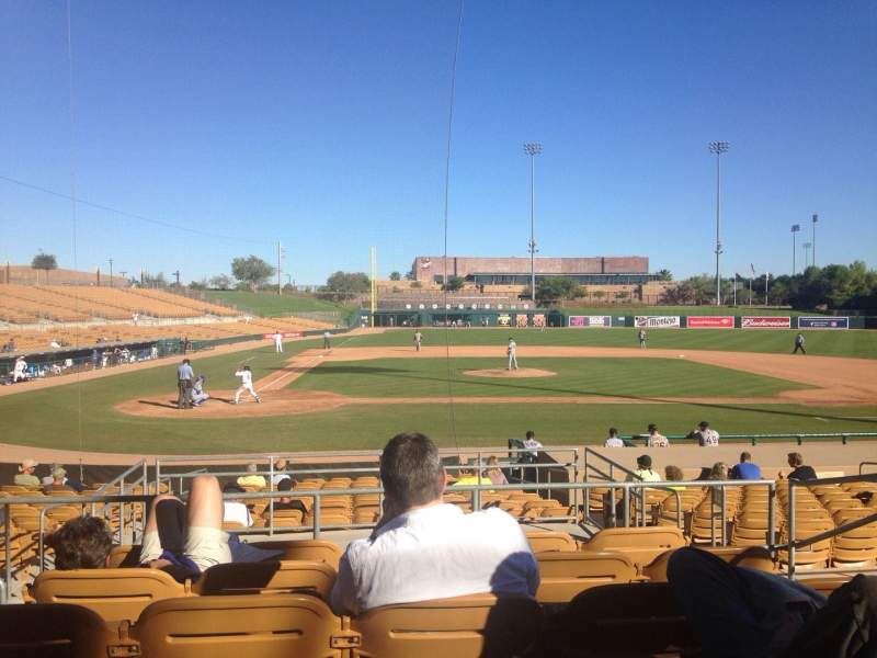 Seating view for Camelback Ranch Section 111 Row 6 Seat 6