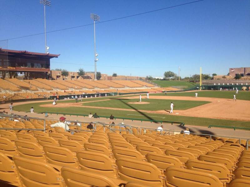 Seating view for Camelback Ranch Section 106 Row 12 Seat 2