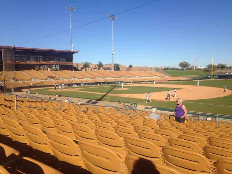 Seating view for Camelback Ranch Section 104 Row 12 Seat 9