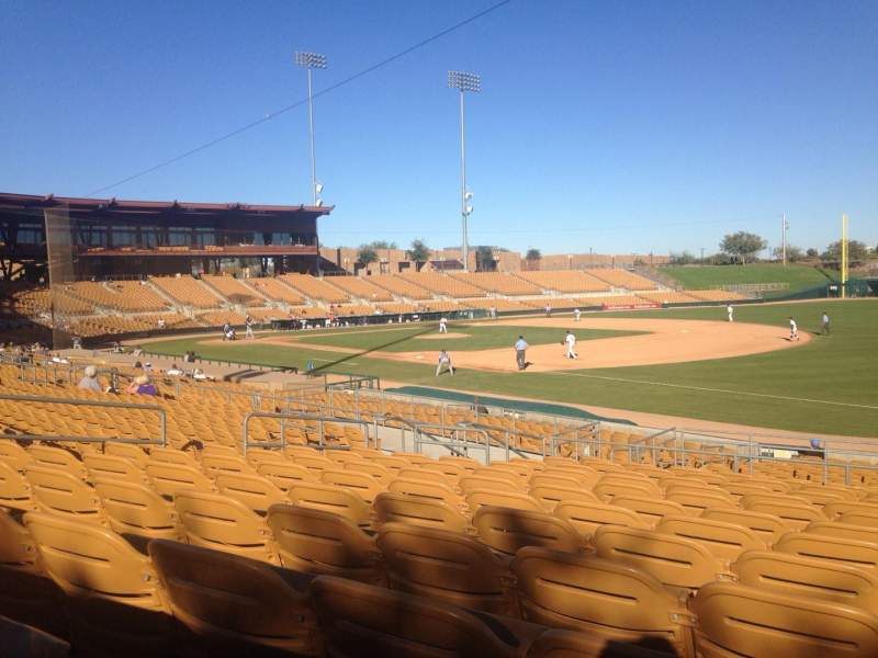 Seating view for Camelback Ranch Section 103 Row 12 Seat 12