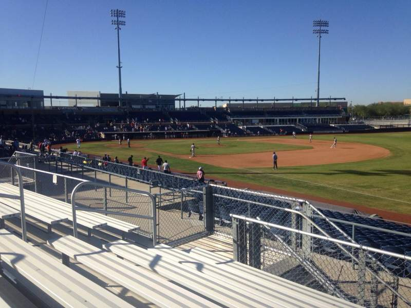 Seating view for Peoria Sports Complex Section 220 Row GG Seat 9