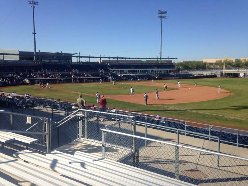 Seating view for Peoria Sports Complex Section 218 Row GG Seat 9
