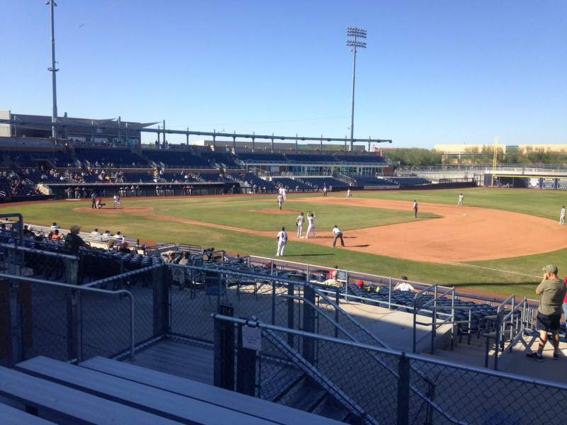 Seating view for Peoria Sports Complex Section 216 Row GG Seat 9