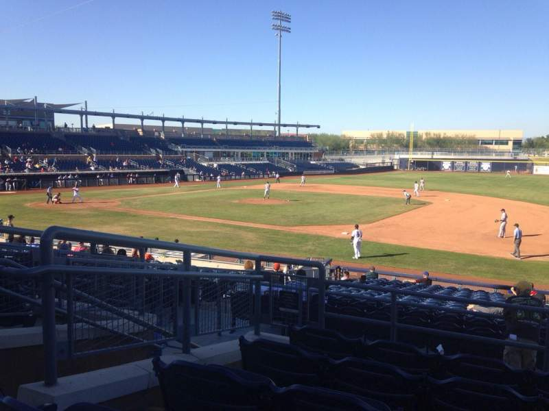 Seating view for Peoria Sports Complex Section 214 Row FF Seat 5
