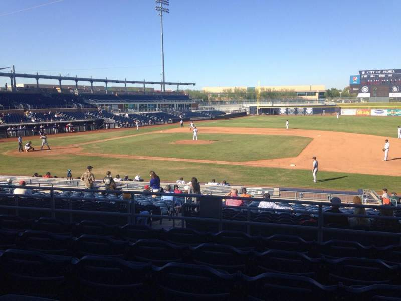 Seating view for Peoria Sports Complex Section 212 Row FF Seat 13