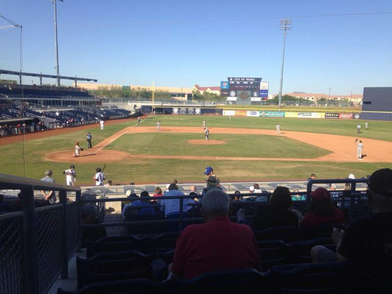 Seating view for Peoria Sports Complex Section 208 Row FF Seat 12