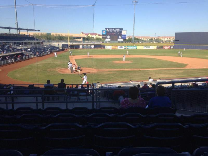 Seating view for Peoria Sports Complex Section 206 Row FF Seat 8