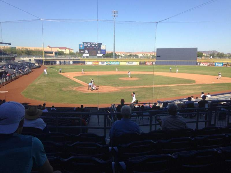 Seating view for Peoria Sports Complex Section 204 Row FF Seat 8