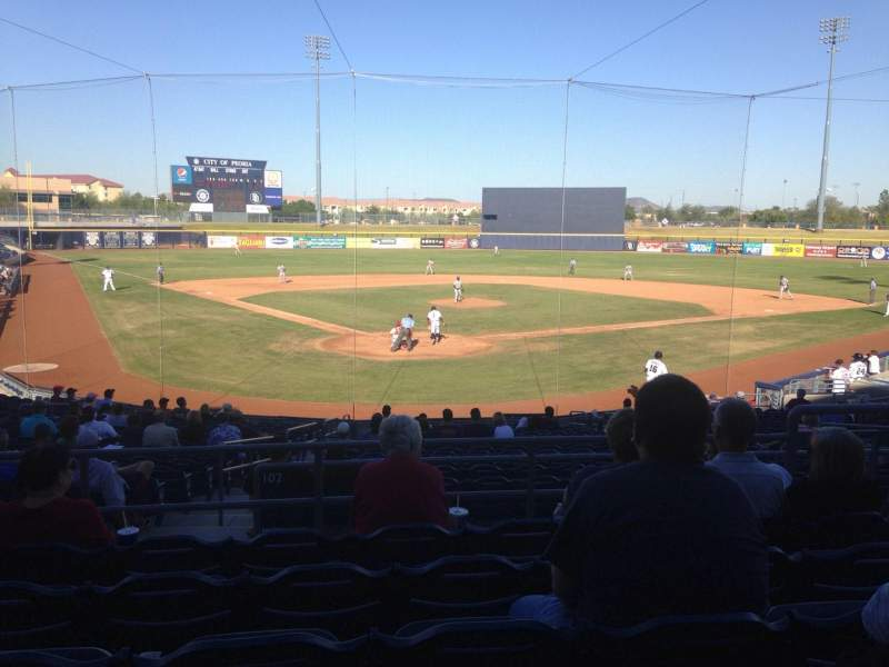 Seating view for Peoria Sports Complex Section 202 Row FF Seat 8