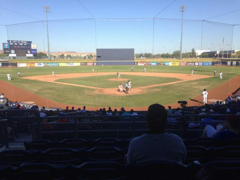Seating view for Peoria Sports Complex Section 200 Row FF Seat 9
