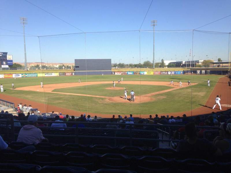 Seating view for Peoria Sports Complex Section 201 Row FF Seat 7
