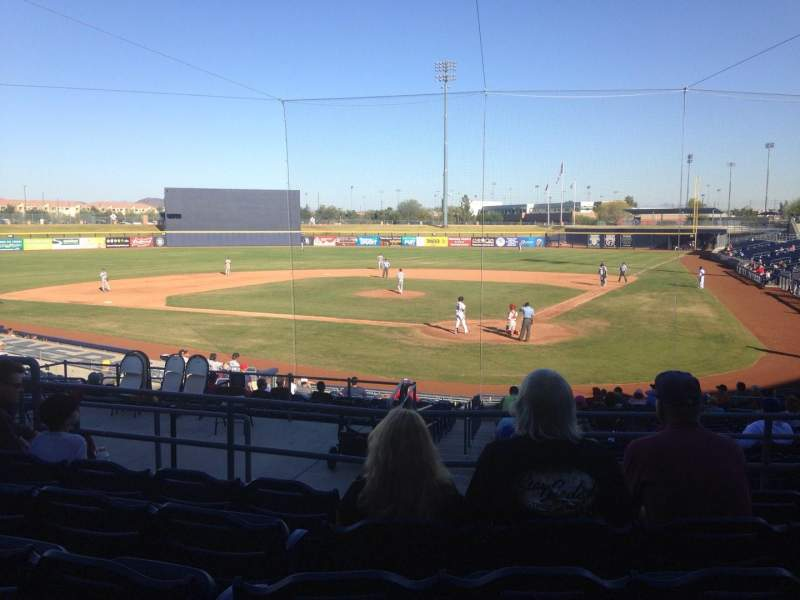 Seating view for Peoria Sports Complex Section 203 Row FF Seat 7