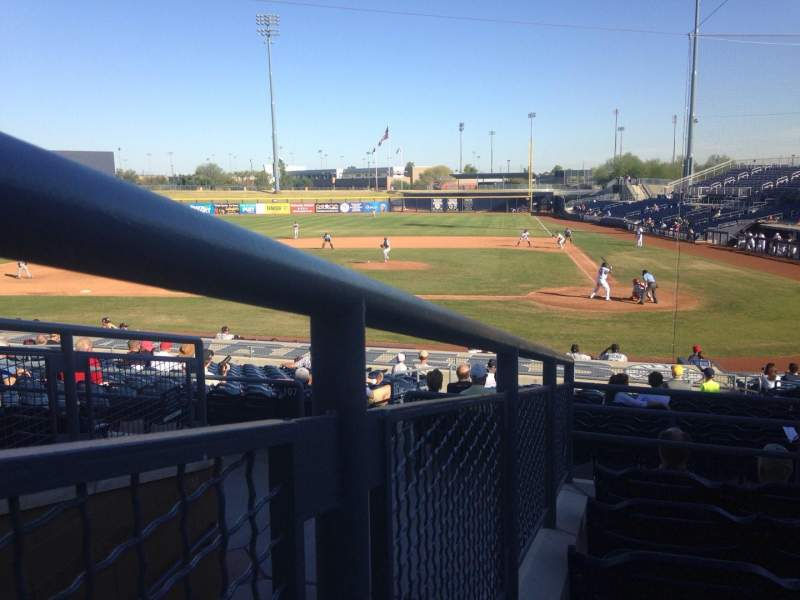 Seating view for Peoria Sports Complex Section 205 Row FF Seat 5