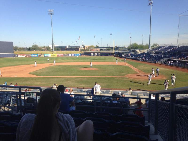 Seating view for Peoria Sports Complex Section 207 Row FF Seat 12
