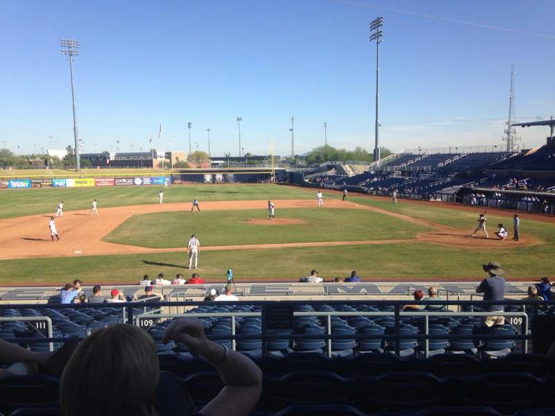 Seating view for Peoria Sports Complex Section 209 Row FF Seat 13