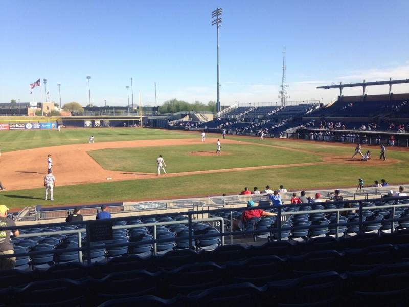 Seating view for Peoria Sports Complex Section 211 Row FF Seat 13