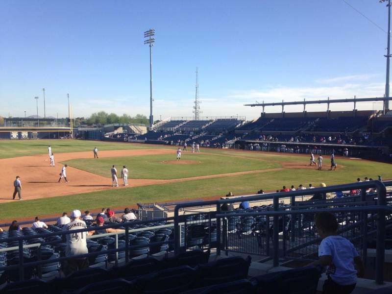 Seating view for Peoria Sports Complex Section 213 Row FF Seat 6