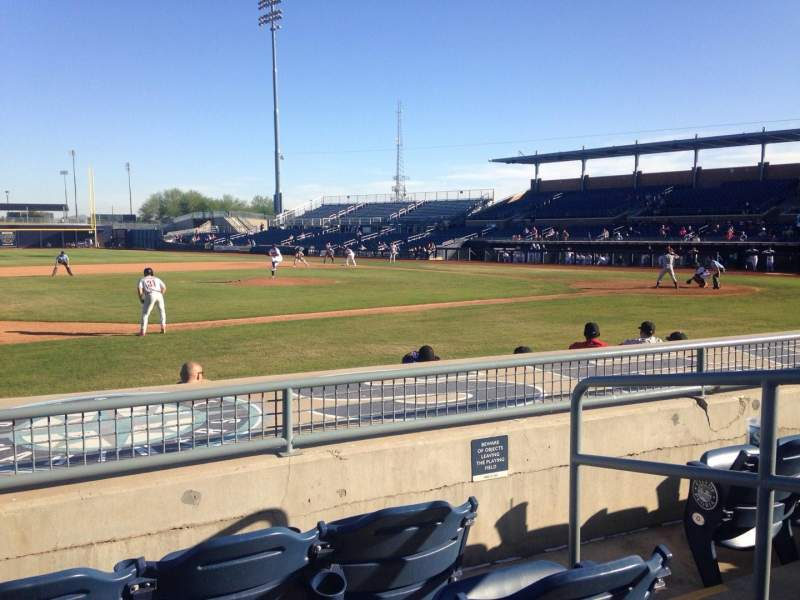 Seating view for Peoria Sports Complex Section 113 Row K Seat 3