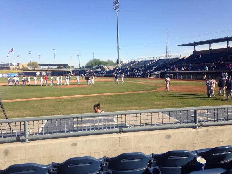 Seating view for Peoria Sports Complex Section 109 Row K Seat 7